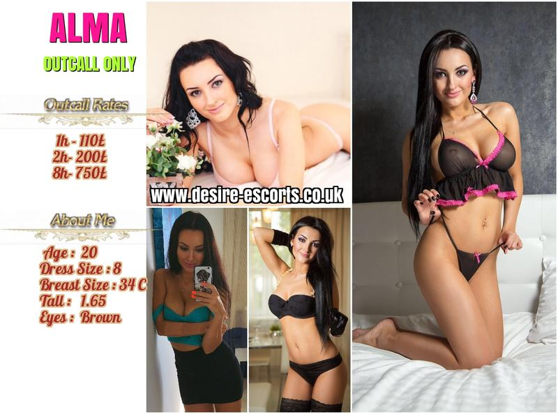 Alma - London escort - Picture